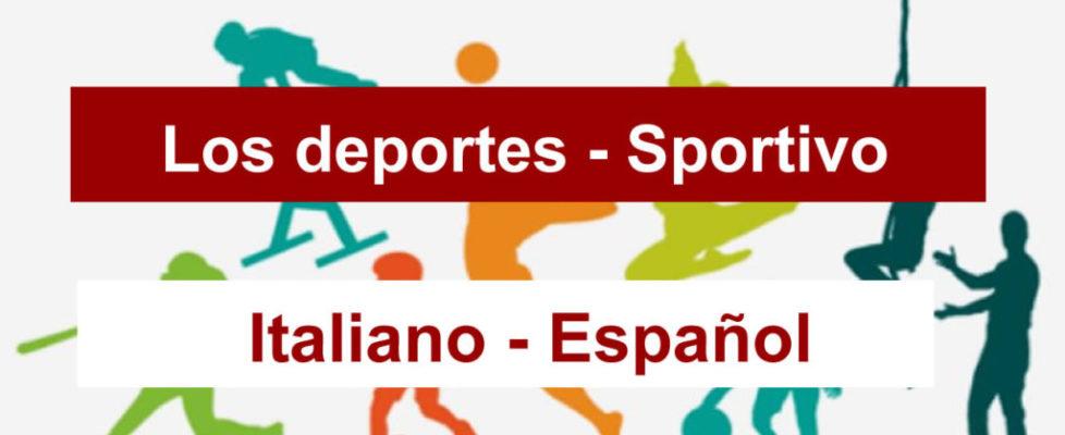 deportes-en-italiano