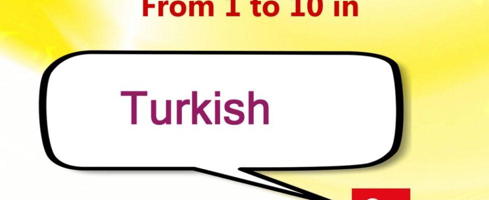 Numeros en turco