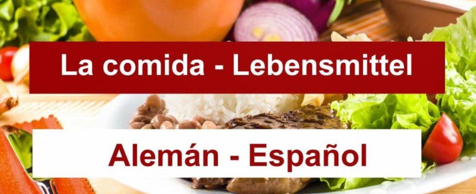 la-comida-en-aleman